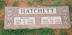 Helen Doris <I>Davis</I> Hatchett