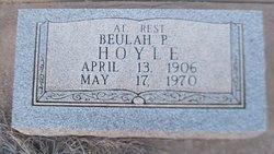 Beulah Pearl <I>Townsend</I> Hoyle