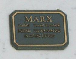 Helen Patricia Victoria <I>Nickerson</I> Marx