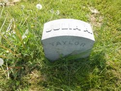 Julia Ann <I>Galloway</I> Taylor