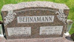 Carrie M <I>Conner</I> Behnamann