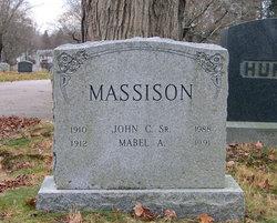 Mabel Alice <I>Webster</I> Massison