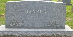 Mary W Hansen