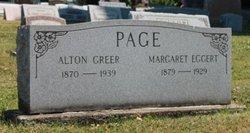Margaret <I>Eggert</I> Page