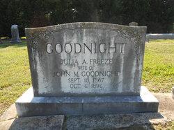 Julia Ann <I>Freeze</I> Goodnight