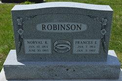 Frances E. <I>Sorensen</I> Robinson
