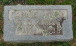 Mary Frances <I>Bell</I> Ashe
