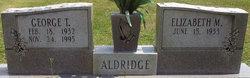 George T Aldridge
