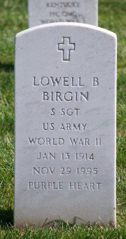 Lowell B Birgin