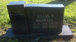 Julian Pieters Kidwell