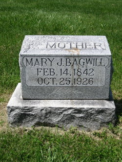 Mary Jane <I>Brown</I> Bagwill