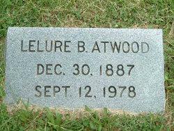 Lelure Belle <I>Morrison</I> Atwood