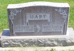 Violette Clare <I>Harrington</I> Hart