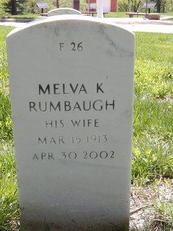 Melva K Rumbaugh