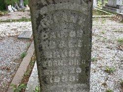 Infant Daughter of T.B. & E F Bruce