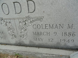 Coleman Mayberry Todd