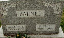 Florence Ethel <I>Stevenson</I> Barnes