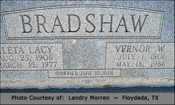 Cleta <I>Lacy</I> Bradshaw