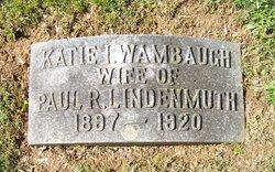 Katie Irene <I>Wambaugh</I> Lindenmuth