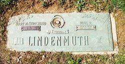 Mary Matilda <I>Strickler</I> Lindenmuth