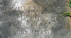 Margaret P. <I>Richardson</I> Harris