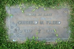"Gunhild Marie ""Hilda"" <I>Peterson</I> Freed"