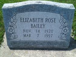 Elizabeth Rose Bailey