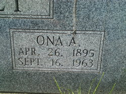 Ona Alice <I>York</I> Bailey