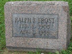 Ralph F. Frost