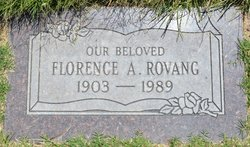 Florence Alice <I>Gay</I> Rovang