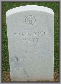 Frederick Watt