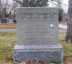 Mary E. F. <I>Clark</I> Bucknam