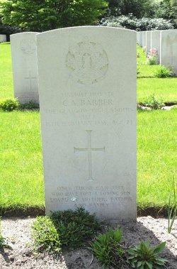 Private Charles Arthur Barber