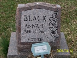 Anna Elizabeth <I>Estright</I> Black