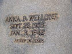 Anna B <I>Murchison</I> Wellons