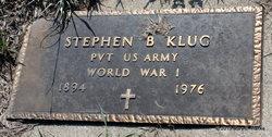 """Stephen Bernard """"Steve"""" Klug"""