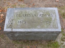 Clarissa <I>Byrns</I> Adams