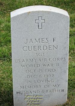 James F Cuerden
