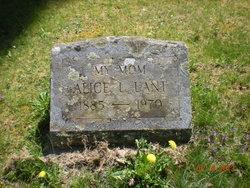 Alice L <I>Bain</I> Lant