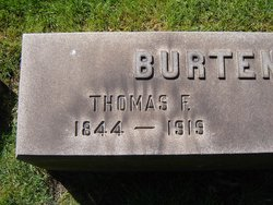 Thomas F Burtenshaw