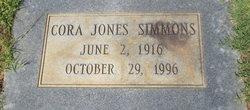 Cora <I>Jones</I> Simmons