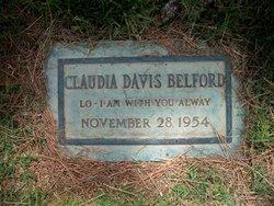 Claudia May <I>Davis</I> Belford