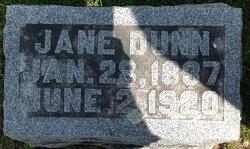 Jane <I>Clubb</I> Dunn