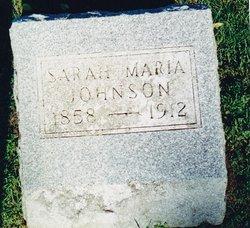 Sara Marie <I>Anderson</I> Johnson