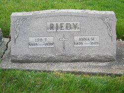 Anna May <I>Gundlach</I> Riedy