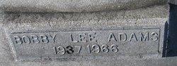 Bobby Lee Adams