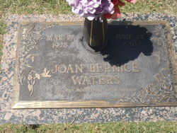 Joan Bernice Waters