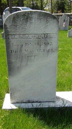 John Parke Rutherford