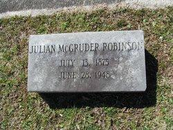 Julian McGruder Robinson