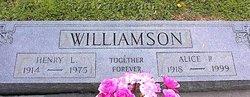 Alice Ruth <I>Justice</I> Williamson